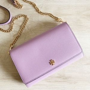 Tory Burch Emerson Chain Wallet/Crossbody Bag
